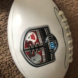 Multiple Ohio State replica home footballs